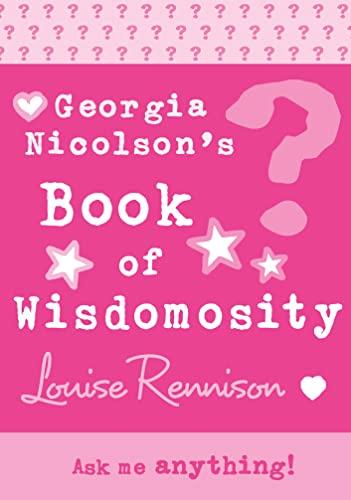 9780007288724: Georgia's Book of Wisdomosity (Confessions of Georgia Nicolsn)