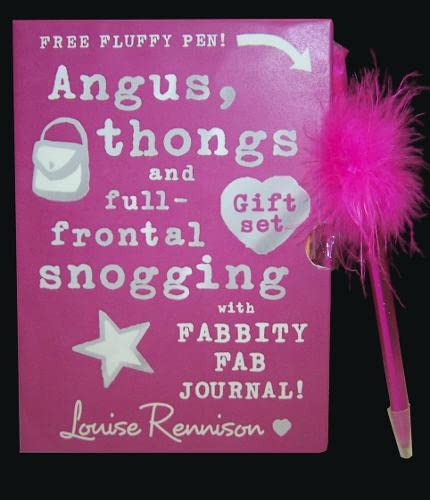 9780007288731: Angus, thongs and full-frontal snogging Gift Set (Confessions of Georgia Nicolsn)