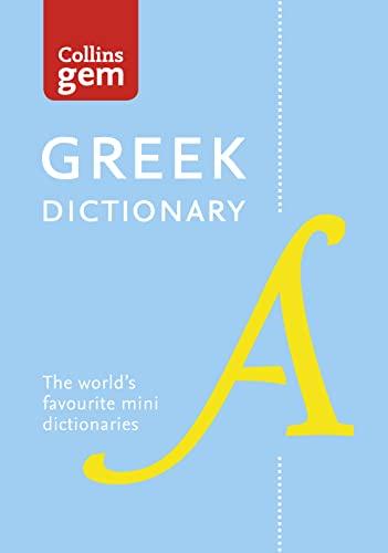 9780007289608: Collins Gem Greek Dictionary