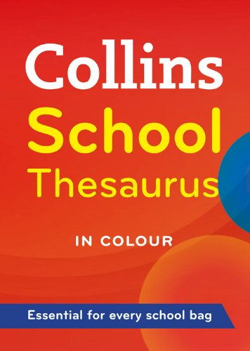 9780007289837: Collins School Thesaurus