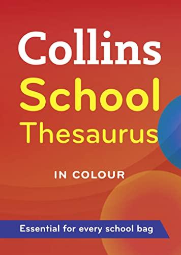 9780007289837: Collins School Thesaurus