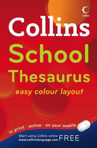 9780007289844: Collins School Thesaurus