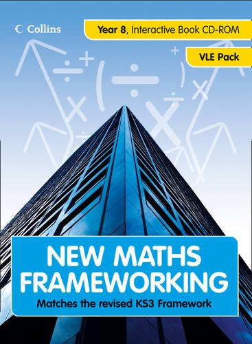 9780007289912: New Maths Frameworking - Year 8 Interactive Book VLE Pack: Year 8 VLE Pack Bk. 2