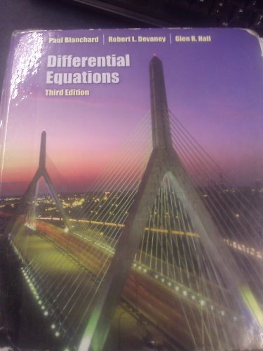 9780007296538: Differential Equations-Text Only