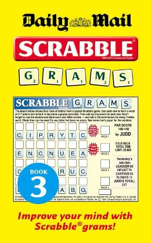 9780007298297: Collins Daily Mail Scrabble Grams: Puzzle Book 3: Puzzle Book No. 3