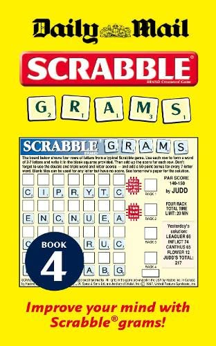 9780007298303: Collins Daily Mail Scrabble Grams: Puzzle Book 4: Puzzle Book No. 4