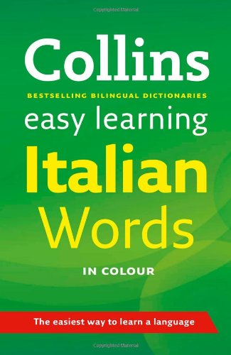 9780007298433: Easy Learning Italian Words (Collins Easy Learning Italian)