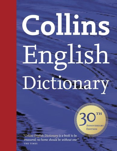 9780007298464: Collins English Dictionary: 30th Anniversary Edition