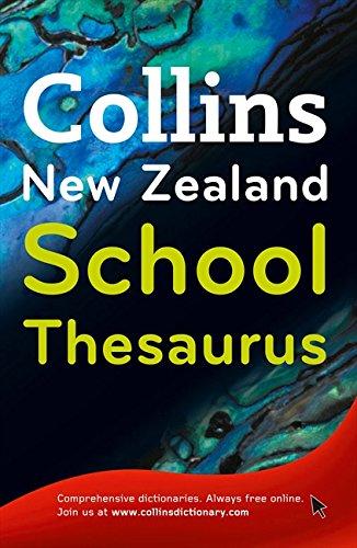 9780007298723: Collins New Zealand School Thesaurus
