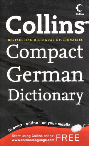 9780007298839: Collins German Compact Dictionary (Collins Compact) (German and English Edition)