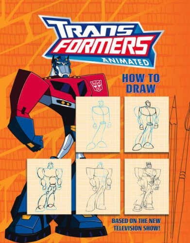 9780007298884: Transformers Animated - How to Draw