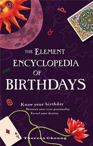 9780007298938: The Element Encyclopedia of Birthdays