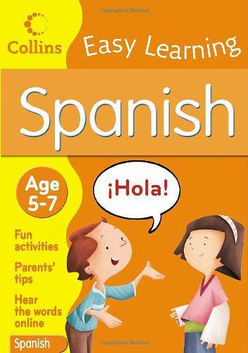 9780007299355: Collins Easy Learning Spanish: Age 5-7
