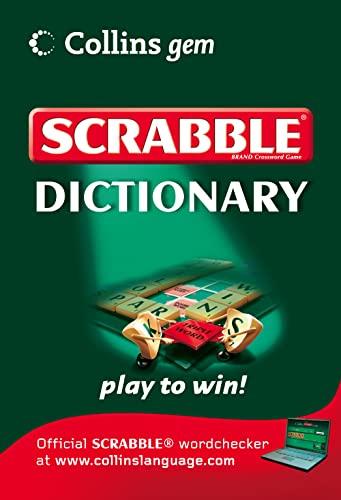 9780007299393: Scrabble Dictionary (Collins Gem)