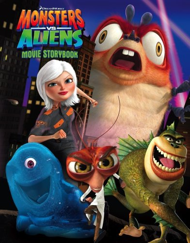 9780007300198: Monsters Vs Aliens - Movie Storybook