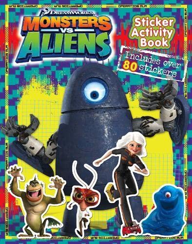 9780007300204: Monsters Vs Aliens - Sticker Activity Book