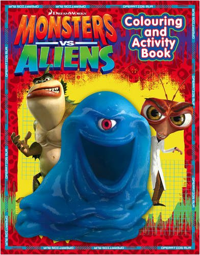 9780007300211: Monsters Vs Aliens - Colouring and Activity Book