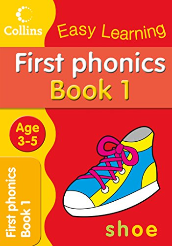 9780007300860: First Phonics: Age 3-5 (Collins Easy Learning Age 3-5)
