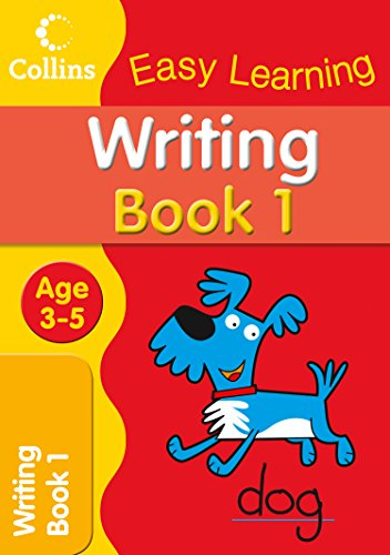 9780007300891: Writing Age 3-5: Book 1 (Collins Easy Learning Age 3-5)