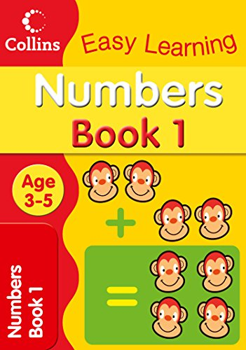 9780007300907: Numbers Age 3–5: Book 1 (Collins Easy Learning Age 3-5)