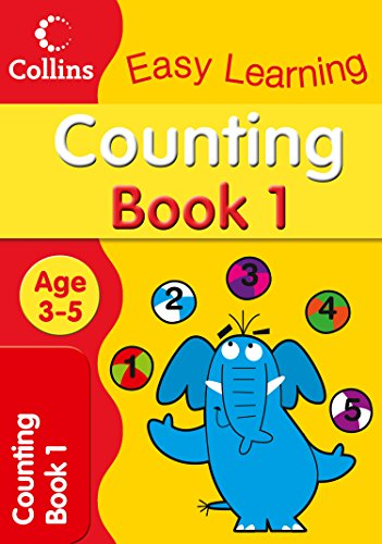9780007300914: Counting Age 3-5: Book 1 (Collins Easy Learning Age 3-5)