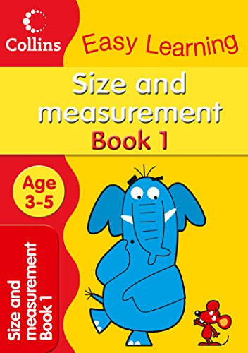 9780007300938: Size and Measurement: Age 3-5 (Collins Easy Learning Age 3-5)