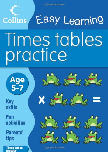 9780007300945: Times Tables Practice (Collins Easy Learning Age 5-7)