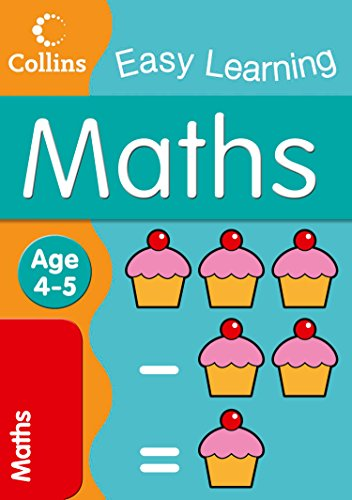 9780007300976: Maths (Collins Easy Learning Age 3-5)