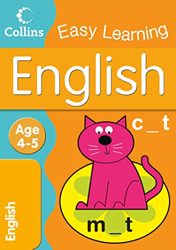9780007301041: English: Age 4-5 (Collins Easy Learning Age 3-5)