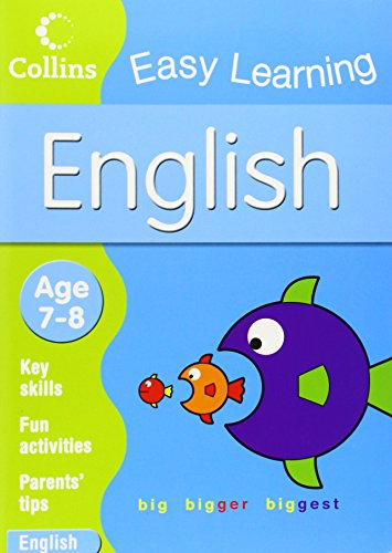9780007301072: English: Age 7-8 (Collins Easy Learning Age 7-11)