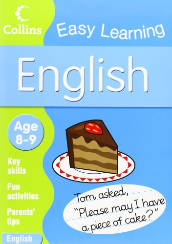 9780007301089: English: Age 8-9 (Collins Easy Learning Age 7-11)
