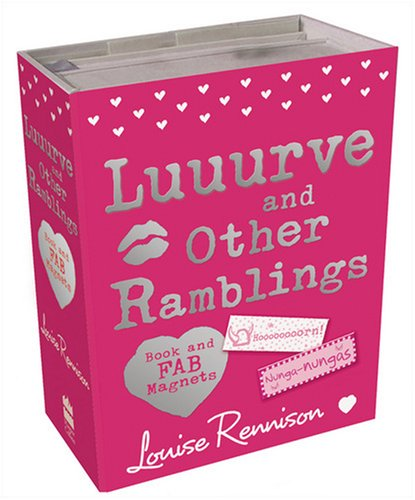 9780007301232: Luuurve and Other Ramblings: Megafab Magnets and Book Gift Set (Confessions of Georgia Nicolso)
