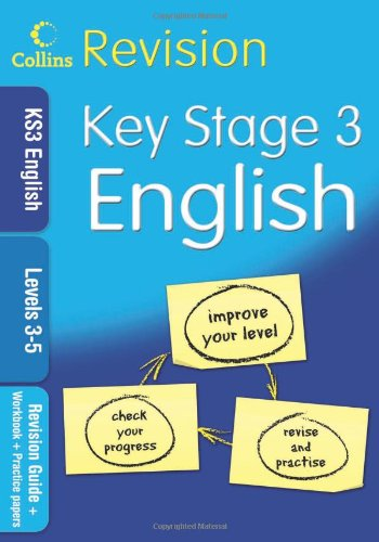 9780007302390: KS3 English L3-5: Revision Guide + Workbook + Practice Papers (Collins KS3 Revision): Levels 3-5