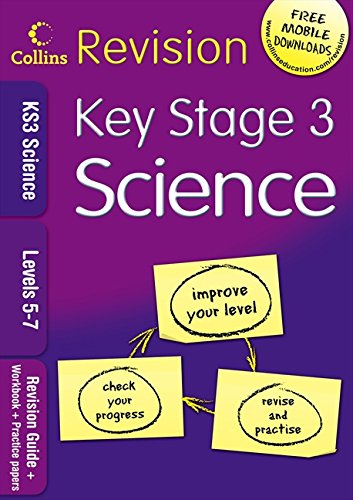 9780007302406: KS3 Science L5-7: Revision Guide + Workbook + Practice Papers (Collins KS3 Revision)