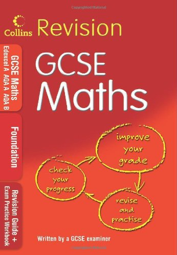 9780007302505: GCSE Maths: Foundation: Revision Guide + Exam Practice Workbook (Collins GCSE Revision)