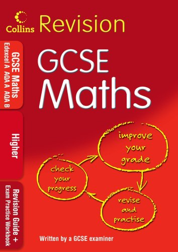 9780007302512: GCSE Maths: Higher: Revision Guide + Exam Practice Workbook (Collins GCSE Revision)