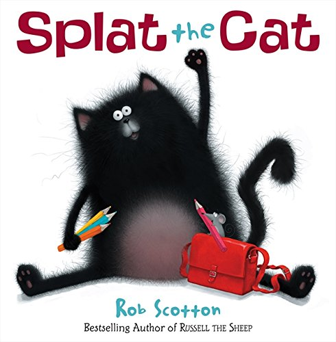 9780007302536: Splat The Cat (Book & CD)