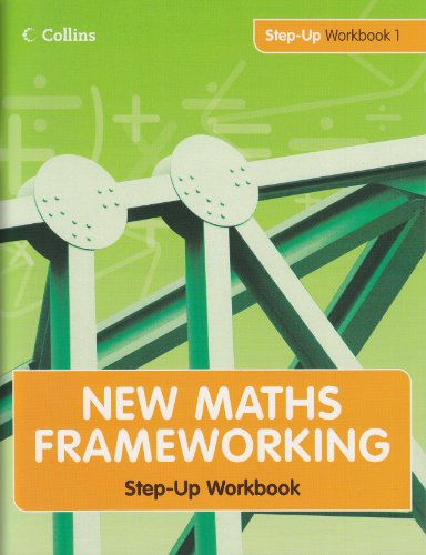 9780007302857: New Maths Frameworking - Step Up Workbook 1