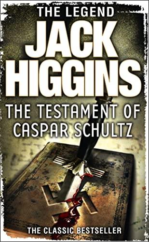 9780007304615: Testament of Caspar Schultz