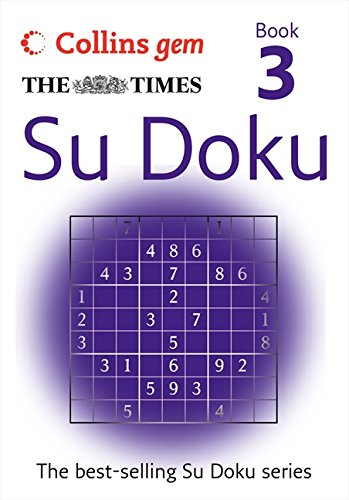9780007305834: The Times Gem Su Doku Book 3: Bk. 3 (Collins Gem)