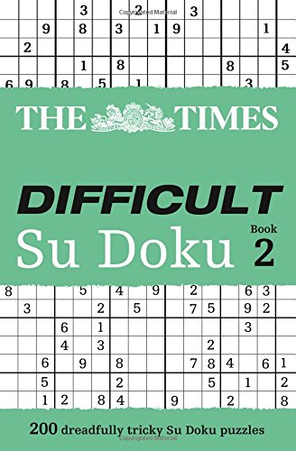9780007307388: The Times: Difficult Su Doku Book 2: Bk. 2