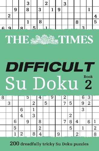 9780007307388: The Times Difficult Su Doku Book 2 (Bk. 2)
