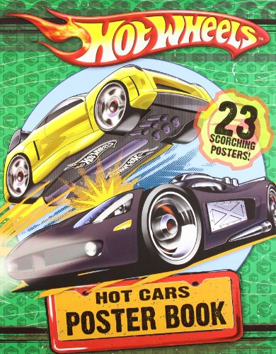 9780007307562: Hot Cars Poster Book (Hot Wheels)