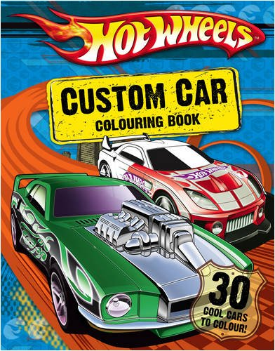 9780007307579: Hot Wheels - Custom Car Colouring Book