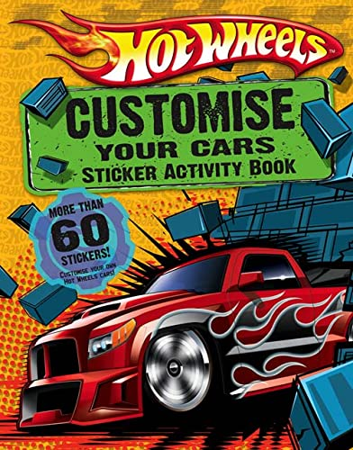 9780007307593: Customise Your Cars: Sticker Activity Book (Hot Wheels)