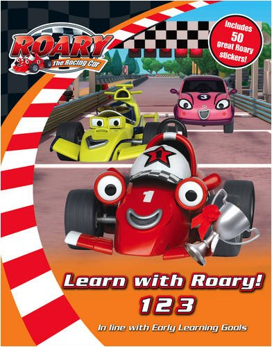9780007307807: Roary the Racing Car - Learn with Roary! 123