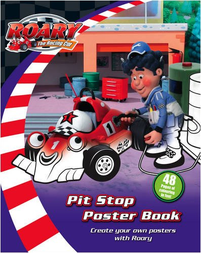 9780007307821: Roary the Racing Car - Pit Stop Poster Book