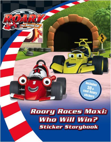9780007307838: Roary the Racing Car - Roary Races Maxi: Who Will Win?: Sticker Storybook