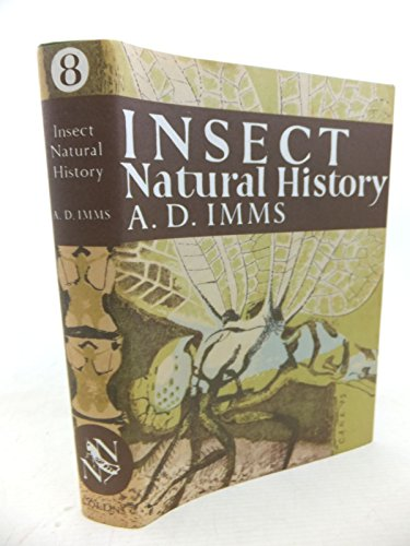 9780007308033: Insect Natural History (Collins New Naturalist Library, Book 8)