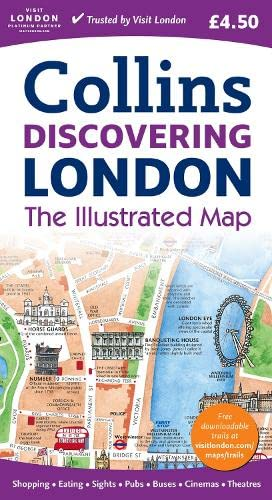 9780007308781: Discovering London Illustrated Map